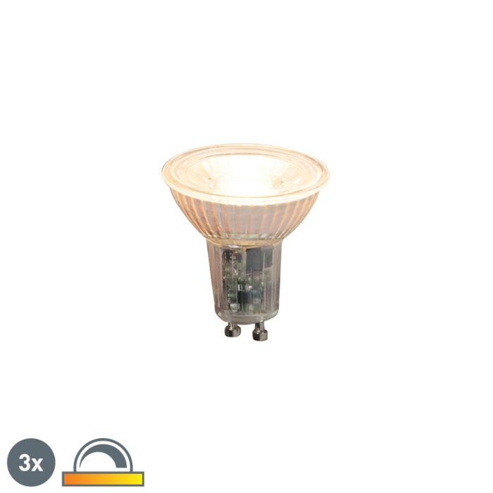 Set-van-3-GU10-dimbare-LED-lampen-5,5W-360lm-2000K---2700K
