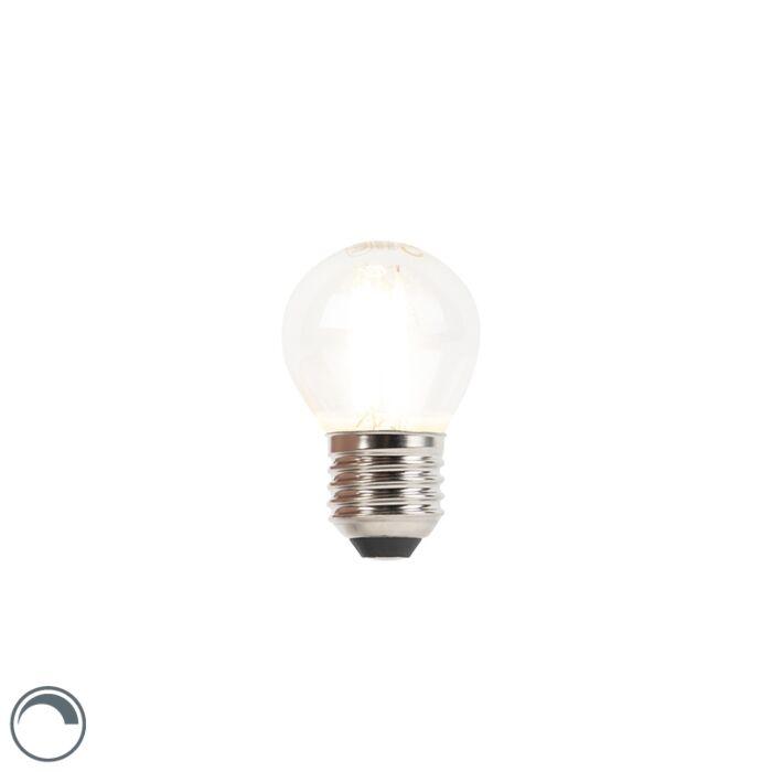E27-dimbare-LED-filament-kogellamp-3W-250-lm-2700K