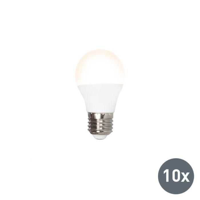 Set-van-10-LED-lamp-P45-E27-3W-3000K