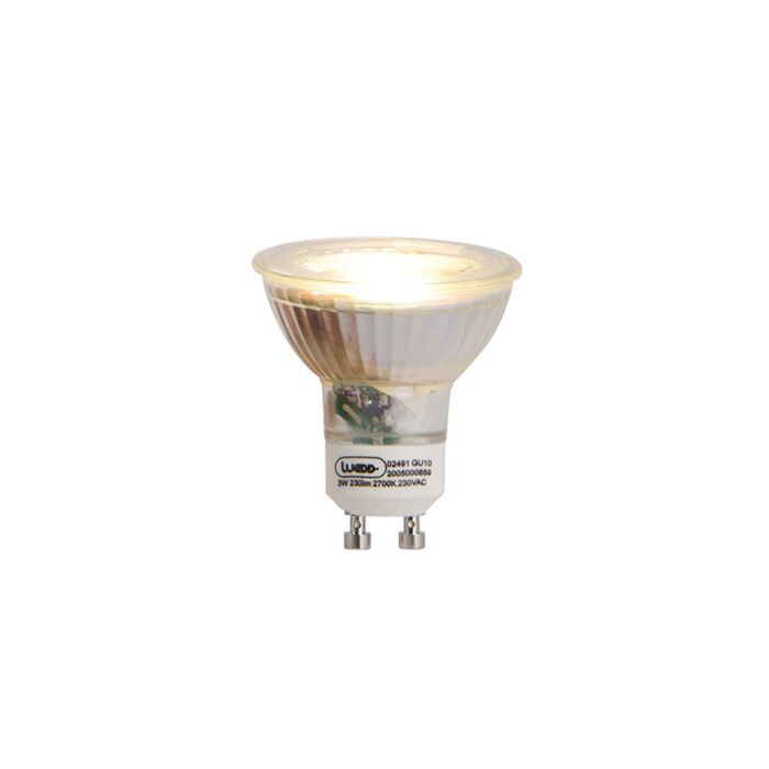 GU10-LED-lamp-3W-230-lm-2700K