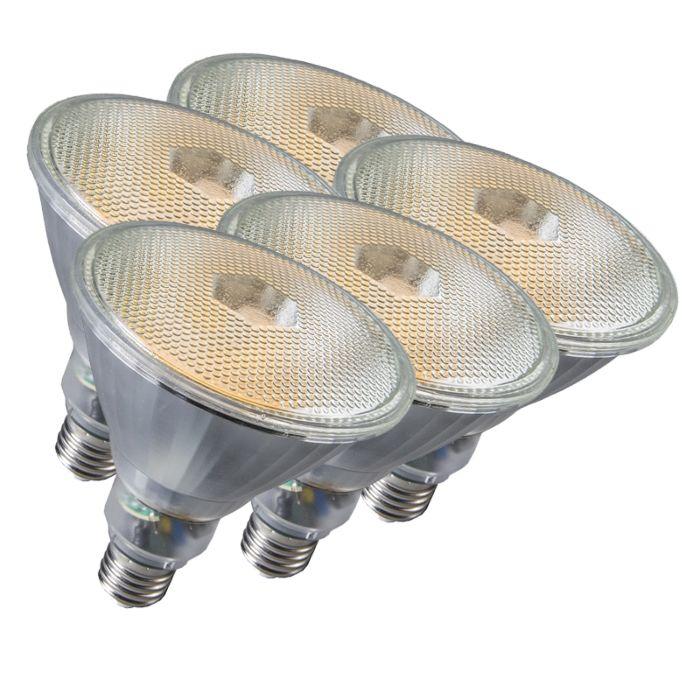 Set-van-5-lamp-Par38-E27-20W-800LM-2700K