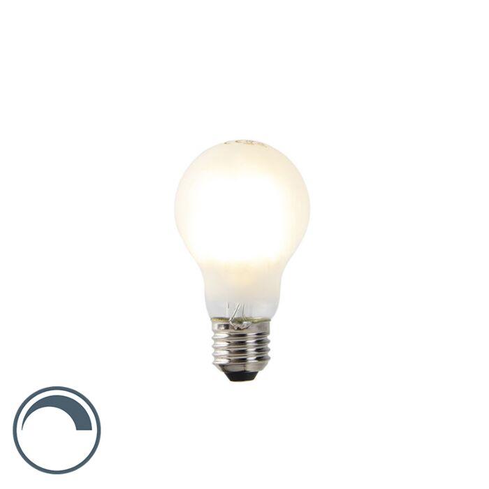 LED-lamp-A60-E27-7W-2700K-mat-filament-dimbaar