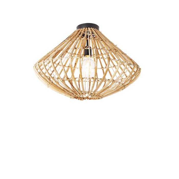 Landelijke-plafondlamp-bamboe---Canna