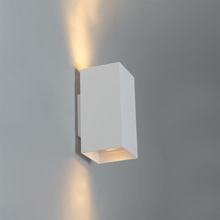 Design-wandlamp-wit-vierkant---Sab