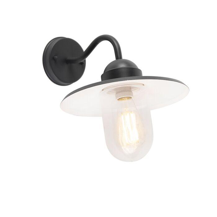 Smart-landelijke-wandlamp-antraciet-IP44-incl.-wifi-E27---Kansas