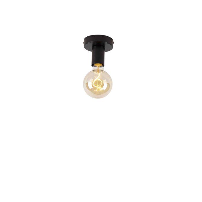 Moderne-plafondlamp-zwart---Facile