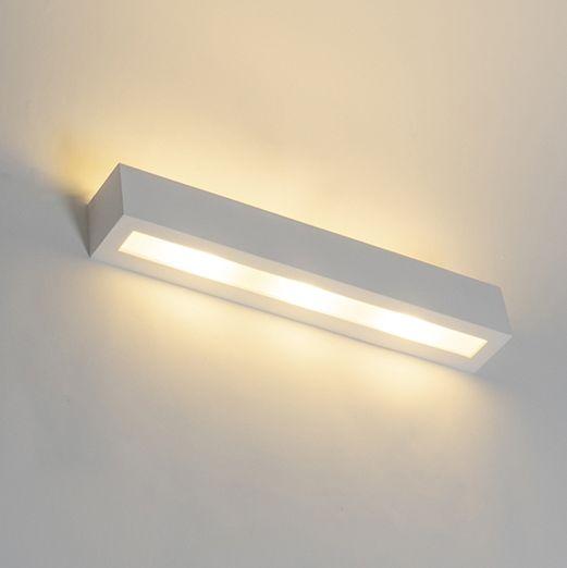 Moderne-wandlamp-wit-3-lichts---Tjada-Novo