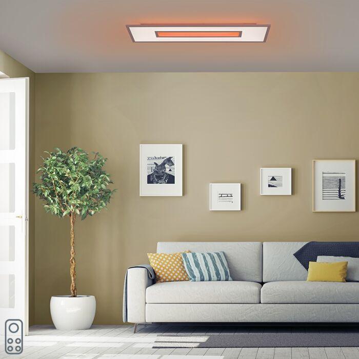 Design-plafonnière-wit-RGB-incl.-LED-100-cm---Tile