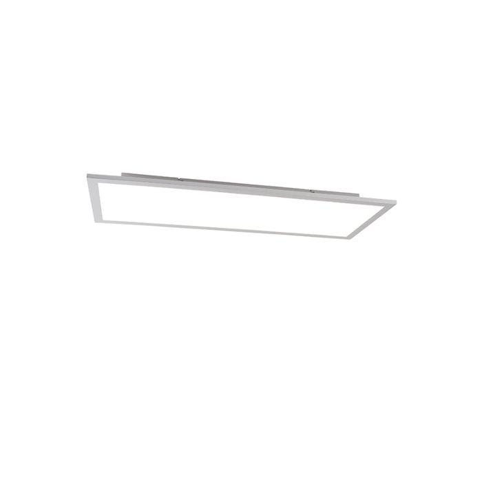 Modern-LED-paneel-staal-incl.-LED-80-cm---Liv