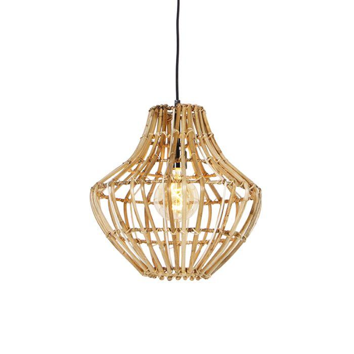 Landelijke-hanglamp-bamboe-36-cm---Canna