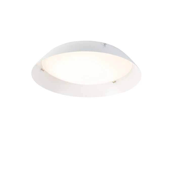 Moderne-plafondlamp-wit-30-cm-incl.-LED---Bjorn