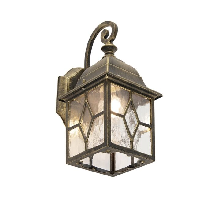 Smart-romantische-buitenwandlamp-brons-incl.-Wifi-A60---London