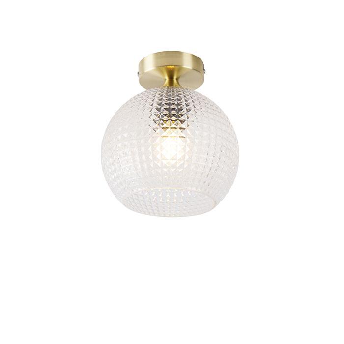 Art-deco-plafondlamp-messing---Sphere