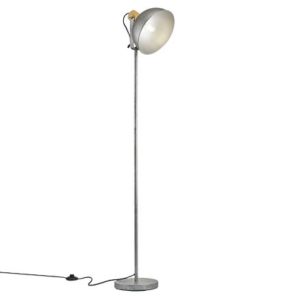 Industriële-vloerlamp-staal---Arti