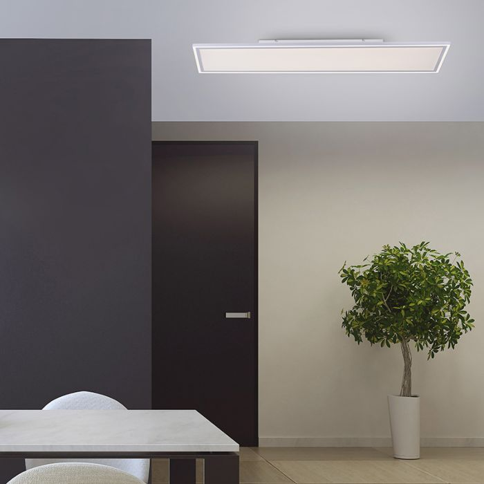 Plafondlamp-wit-121-cm-incl.-LED-en-afstandsbediening---Luntani