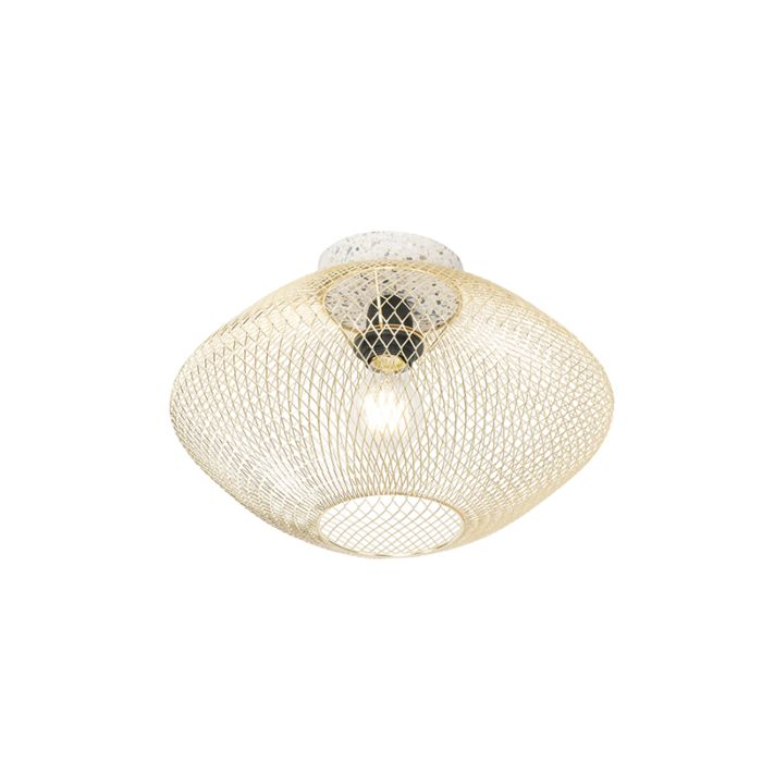 Design-plafondlamp-Terrazzo-met-messing---Ella