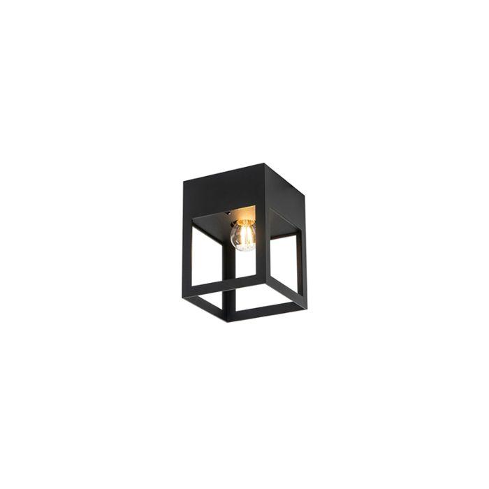 Moderne-plafondlamp-zwart---Cela