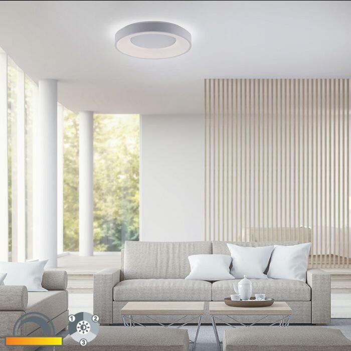 Moderne-plafondlamp-wit-incl.-LED-3-staps-dimbaar---Steffie
