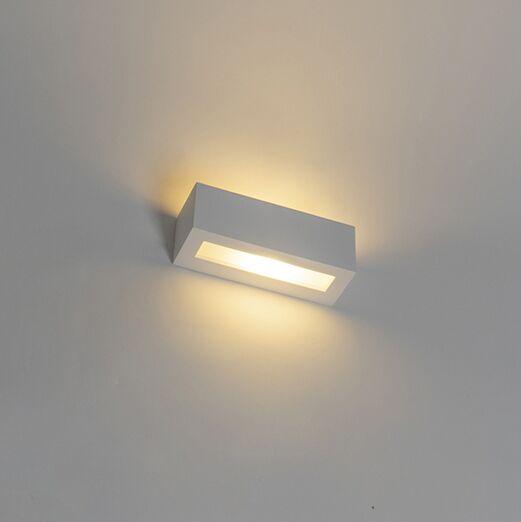 Moderne-wandlamp-wit---Tjada-Novo