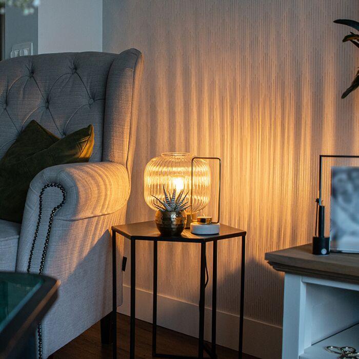 Art-Deco-tafellamp-messing---Karel