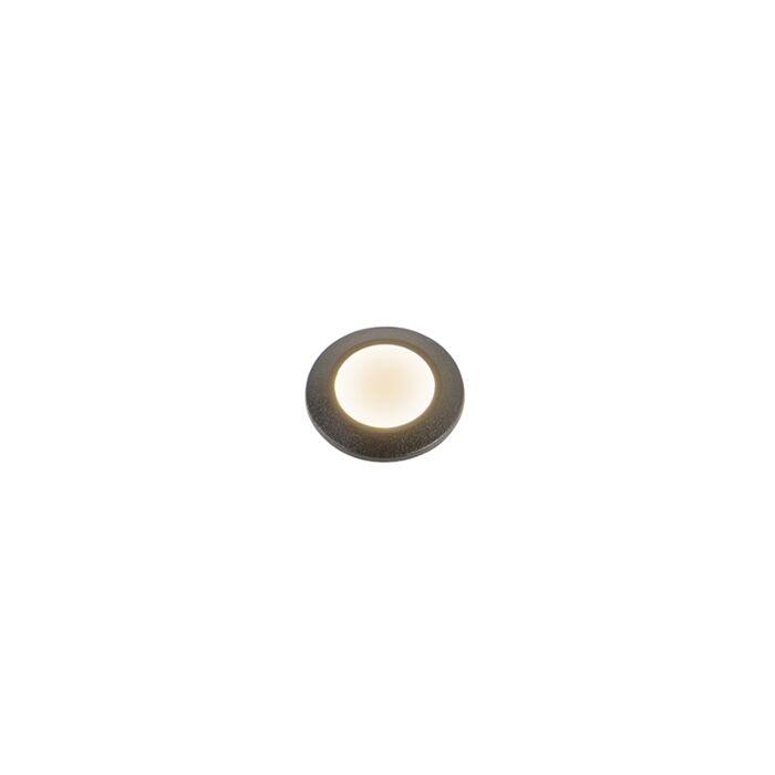Moderne-buiten-grondspot-zwart-IP67-incl.-LED---Aldo