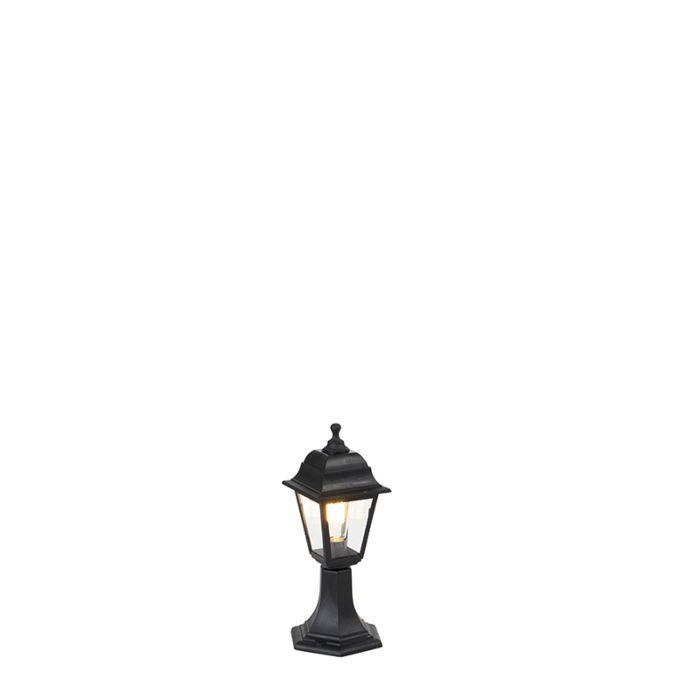 Klassiek-buiten-paaltje-zwart-44-cm-IP44---Capital