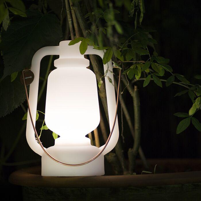 Tafellamp-wit-met-speaker-en-oplaadbaar-IP44---Storm-Music