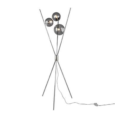 Design-vloerlamp-zilver-met-smoke-glas-3-lichts---Stino