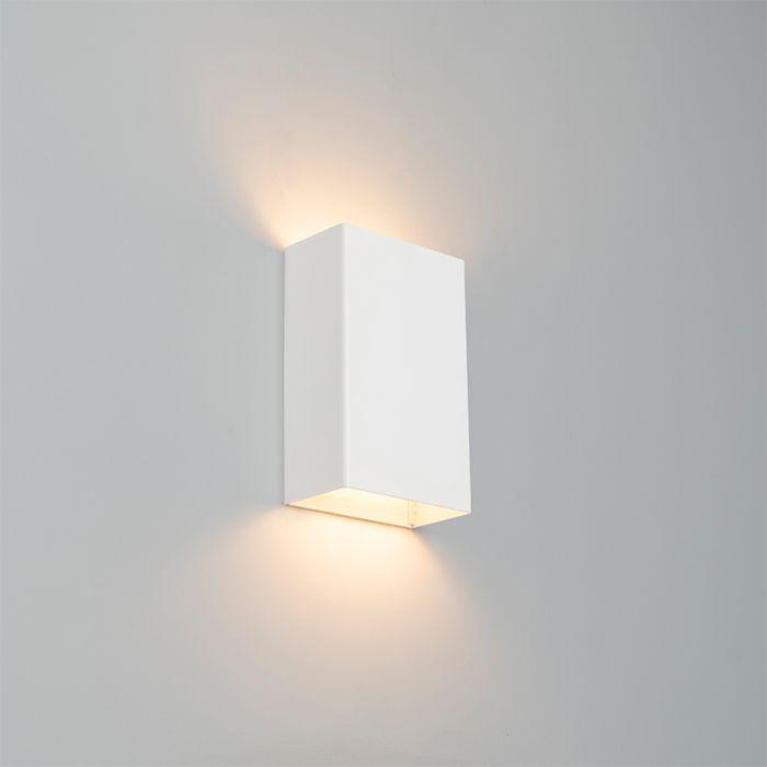Moderne-wandlamp-wit---Otan-S