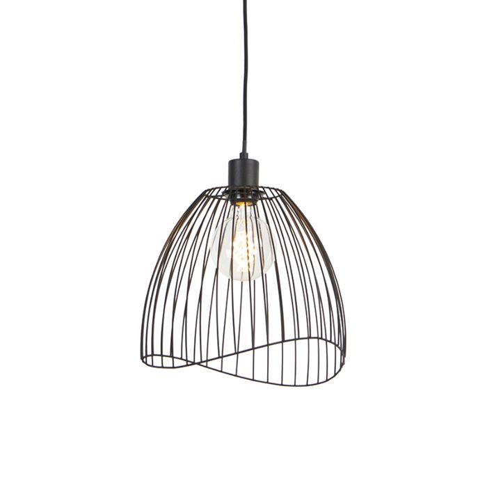 Design-hanglamp-zwart-29-cm---Pua