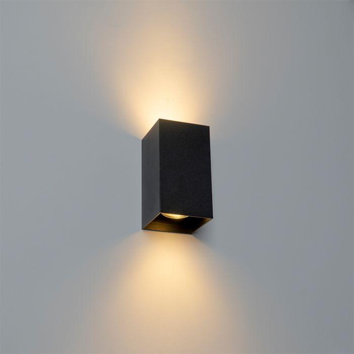Design-vierkante-wandlamp-zwart---Sabbir
