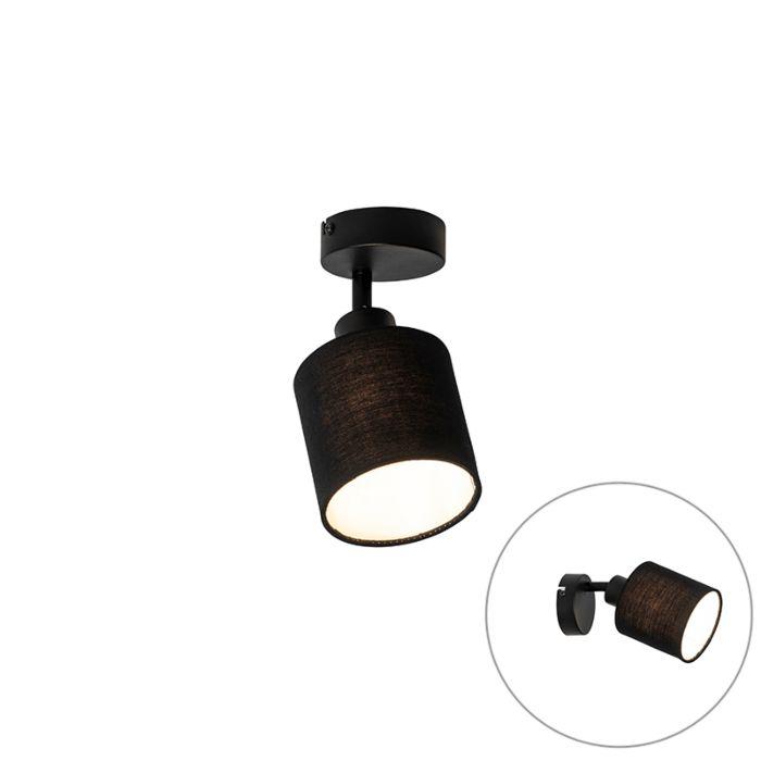 Plafondlamp-zwart-verstelbaar---Hetta
