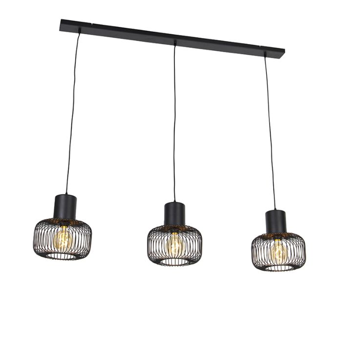 Design-hanglamp-zwart-3-lichts---Baya