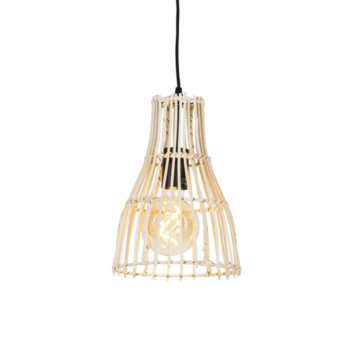 Landelijke-hanglamp-rotan-20-cm---Botello