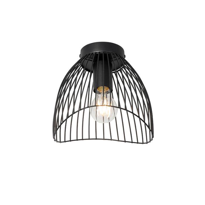 Design-plafondlamp-zwart-20-cm---Pua