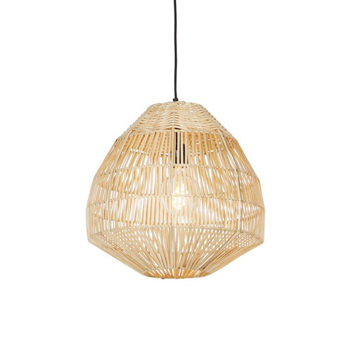 Landelijke-hanglamp-bamboe-41-cm---Bishop
