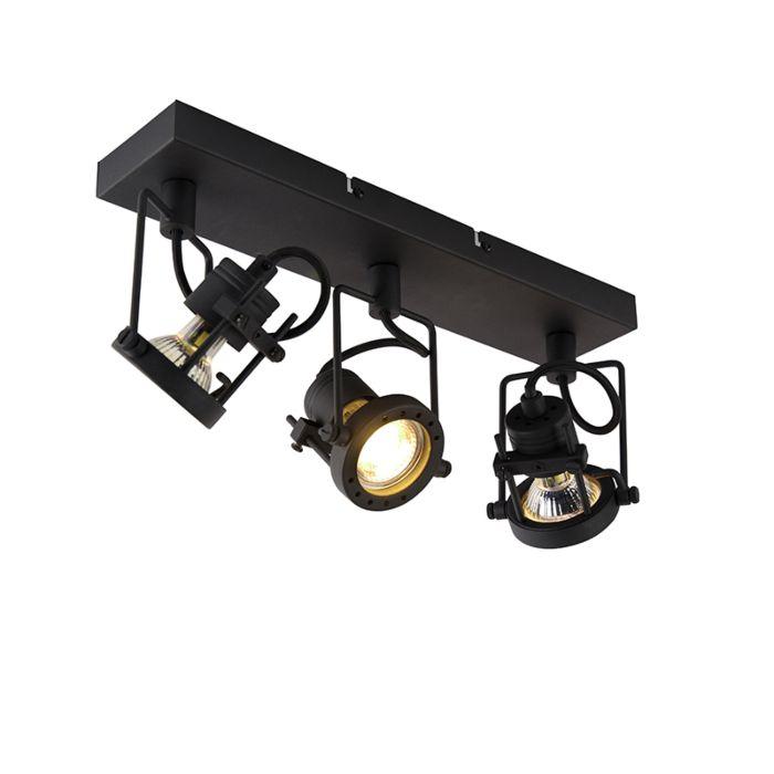 Industriële-spot-zwart-3-lichts---Suplux