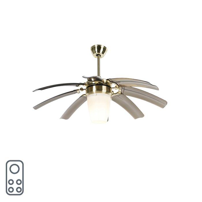 Plafondventilator-messing-met-afstandsbediening---Wings-42