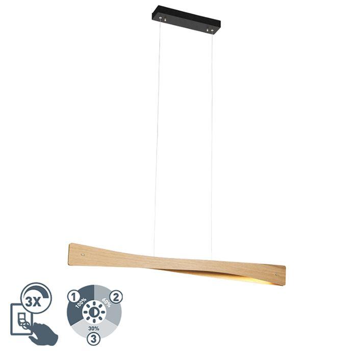 Landelijk-hanglamp-hout-incl.-LED-4-staps-dimbaar---Sjaak