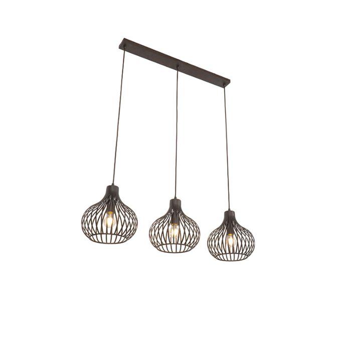 Hanglamp-bruin-3-lichts---Frances