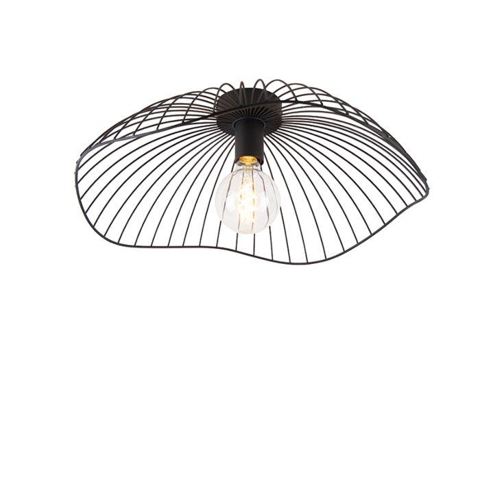 Design-plafondlamp-zwart-50-cm---Pua