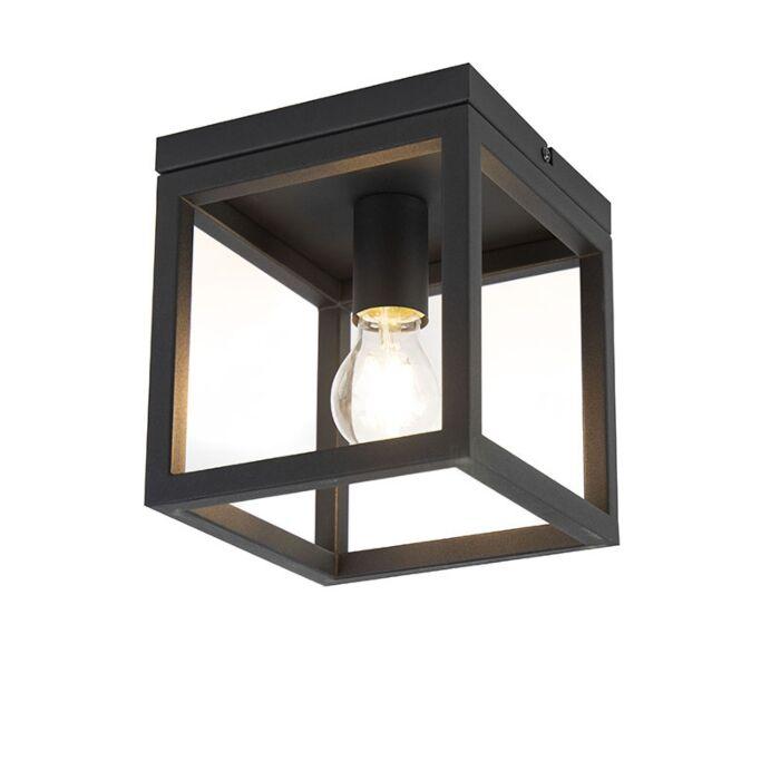 Smart-industriële-plafondlamp-zwart-incl.-wifi-A60---Cage-1