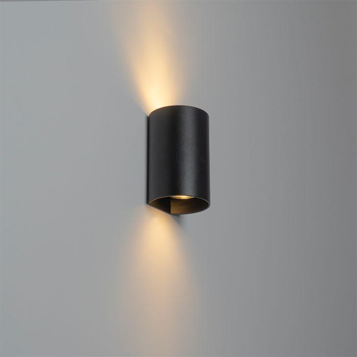 Design-wandlamp-zwart---Sabbir