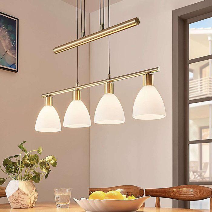 Klassieke-hanglamp-messing---Simeon
