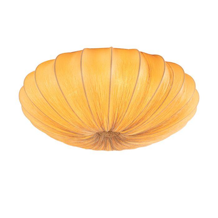 Design-plafondlamp-beige-zijden-60-cm---Plu