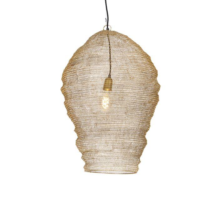 Oosterse-hanglamp-goud-70-cm---Nidum