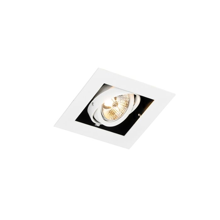 Moderne-inbouwspot-wit-verstelbaar---Oneon-70