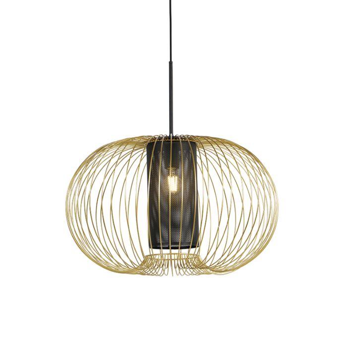 Design-hanglamp-goud-met-zwart-60-cm---Marnie