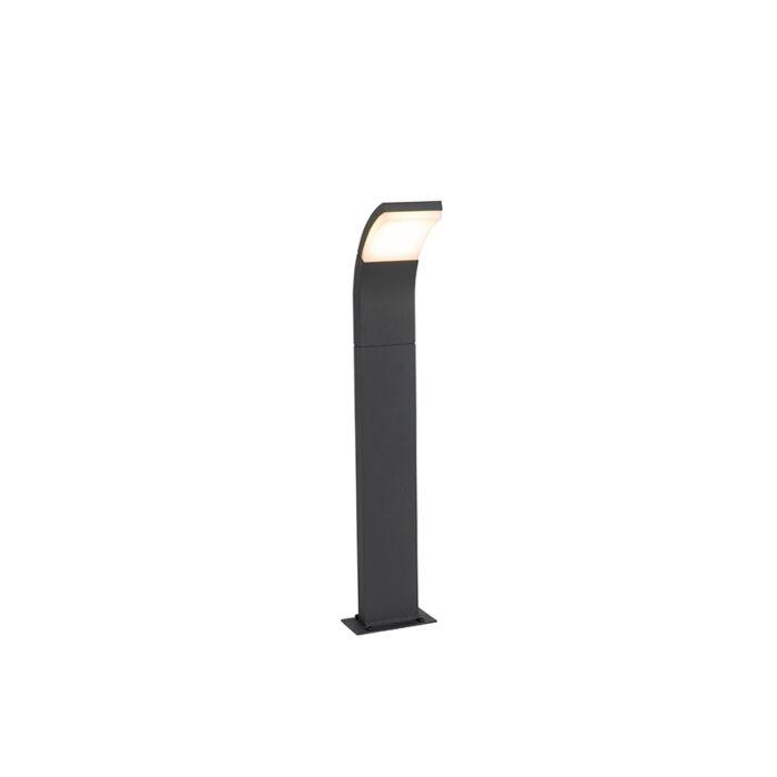 Moderne-buitenpaaltje-antraciet-60-cm-incl.-LED-IP54---Litt