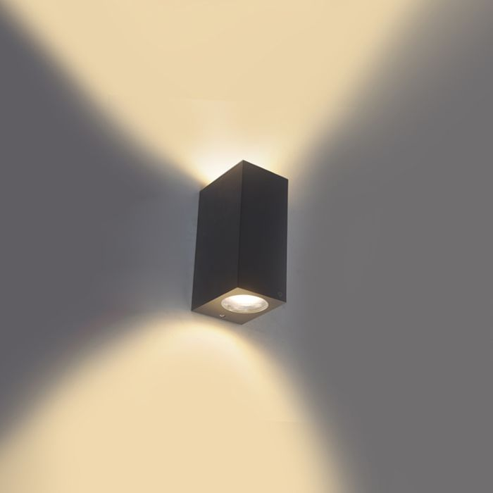 Moderne-wandlamp-grijs-van-kunststof---Baleno-II